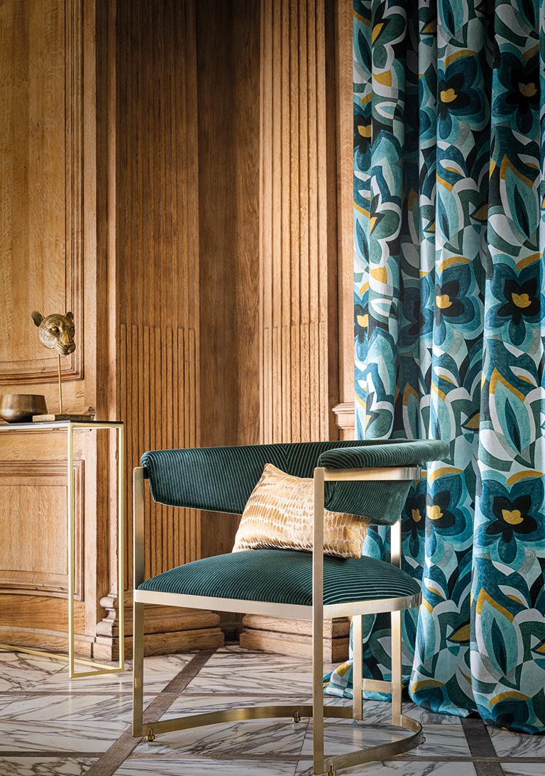 Corduroy-velvet-linen-floral-print