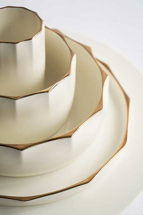 stackable tableware by Woha