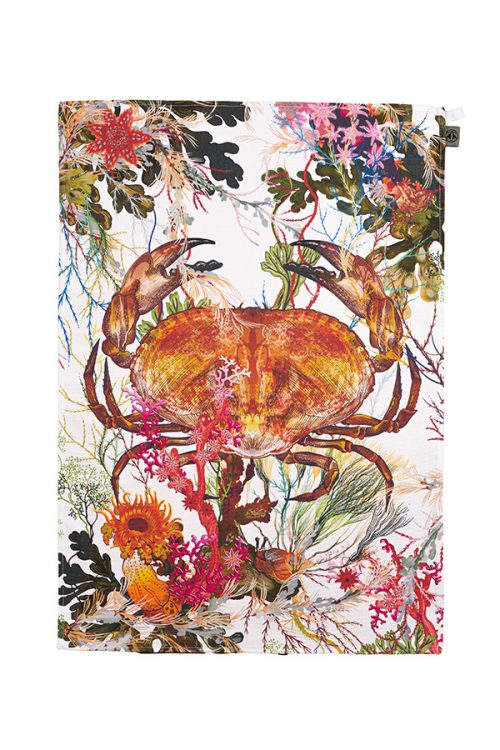 Brown-crab-Timorous-beasties-tea-towel